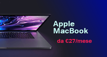 Noleggio operativo Apple MacBook