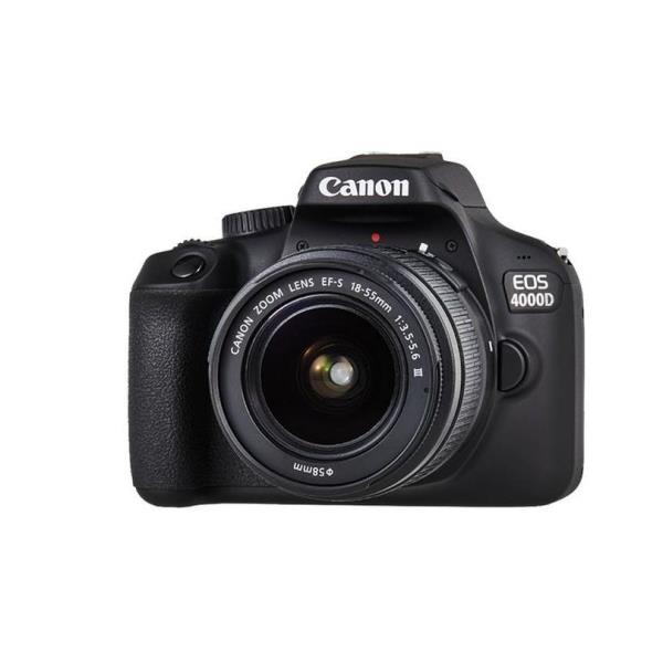 Canon EOS 4000D EFS 1855 MM DC FOTOCAMERE REFLEX