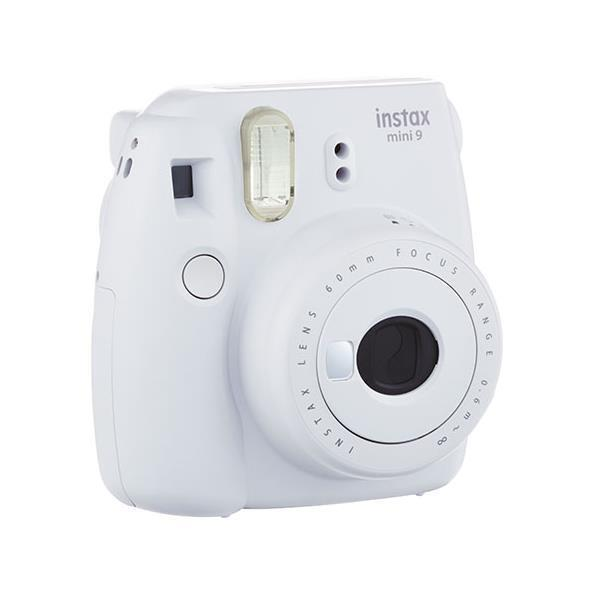 Fujifilm INSTAX MINI 9 SMOKY WHITE KIT10 FOTOCAMERE ANALOGICHE