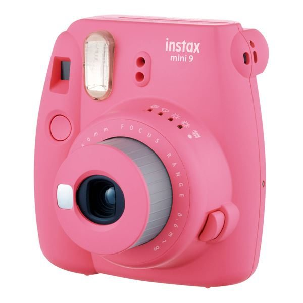 Fujifilm INSTAX MINI 9 FLAMINGO PINK KIT 10 FOTOCAMERE ANALOGICHE