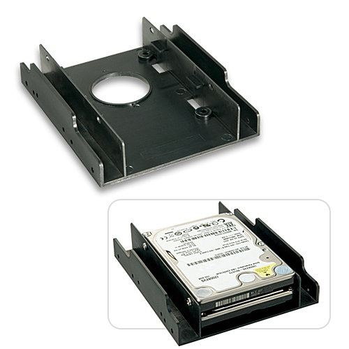 Lindy FRAME PER 2 HDD DA 2 5  IN UNO SLOT PC - ACCESSORI