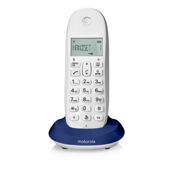 Motorola CORDLESS C1001L ROYAL BLUE