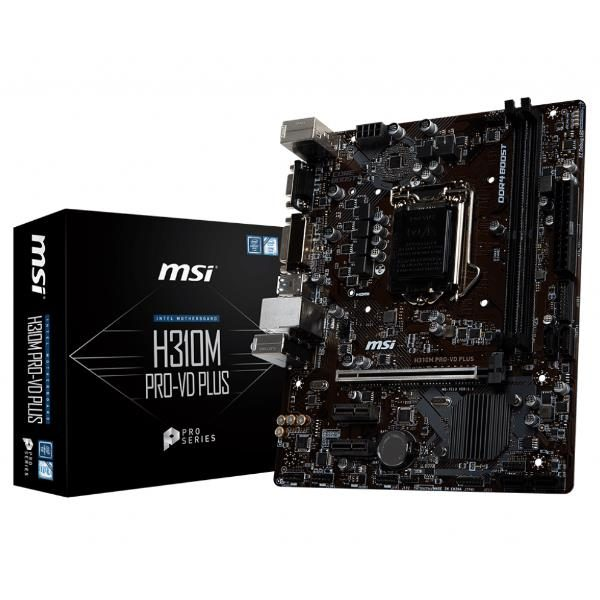 MSI MAINBOARD H310M PROVD PLUS MOTHERBOARD