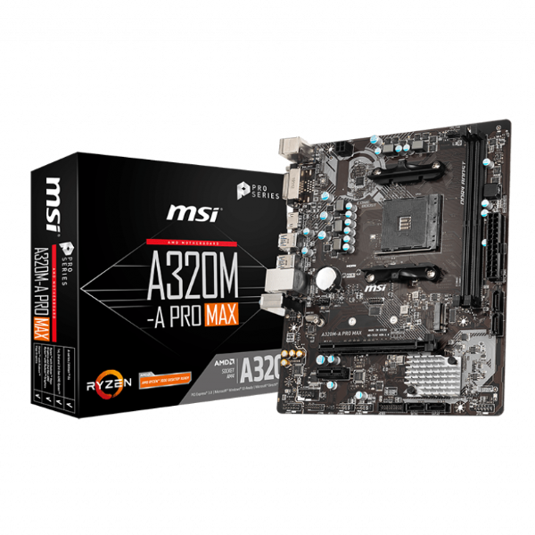 MSI MAINBOARD A320MA PRO MAX MOTHERBOARD