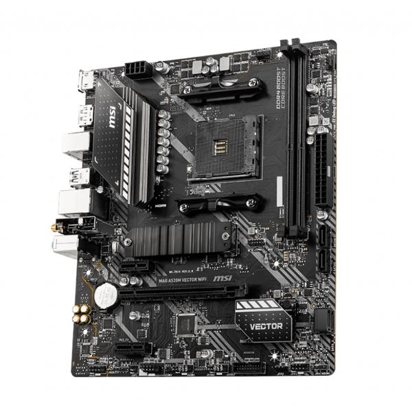 MSI MAINBOARD A520M VECTOR WIFI MOTHERBOARD