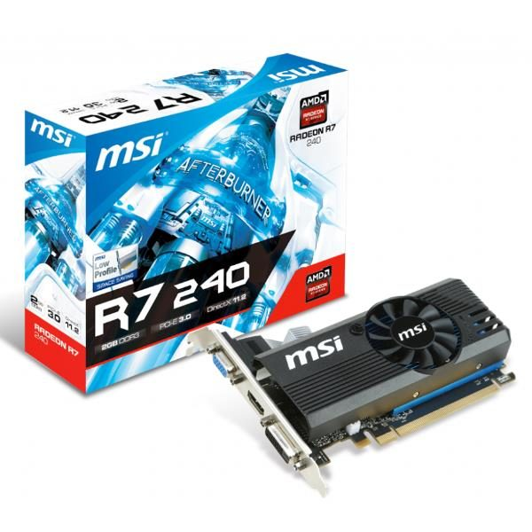MSI RADEON R7 240 2GD3 64B LP