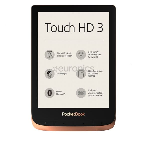 PocketBook TOUCH HD 3 SPICY COPPER E-BOOK READERS