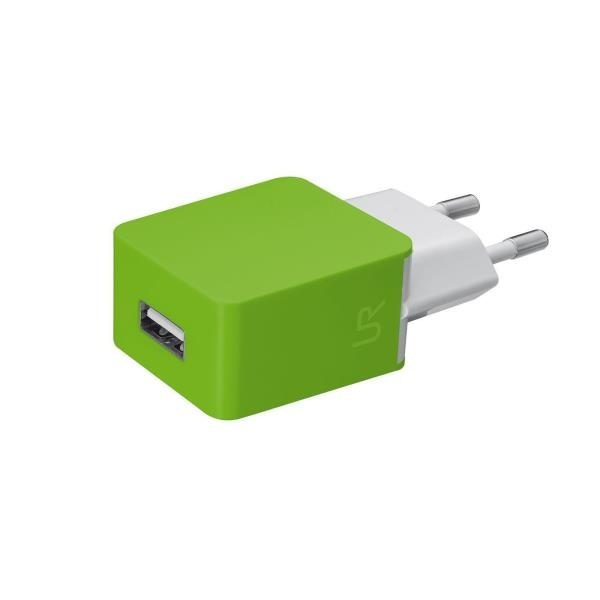 Trust SMARTPHONE WALL CHARGER  LIME